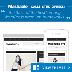 StudioPress Award winning themes